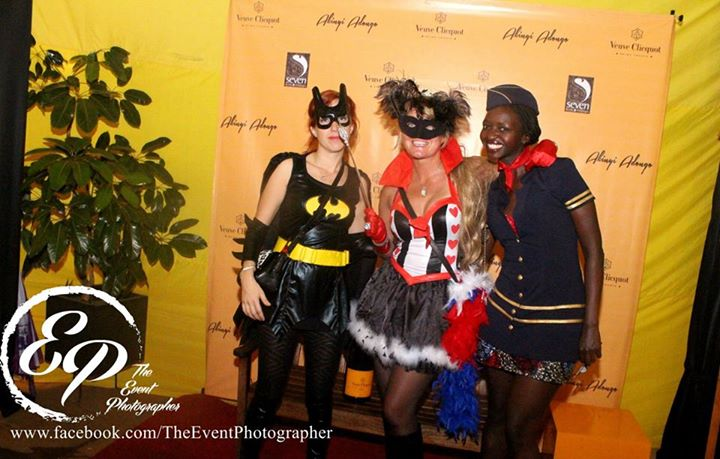 54 Akinyi Adongo Halloween Yelloween Party Veuve Clicquot Nairobi