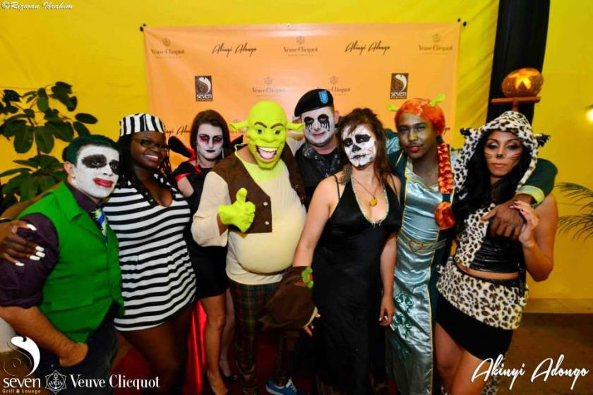 59 Akinyi Adongo Halloween Yelloween Party Veuve Clicquot Nairobi