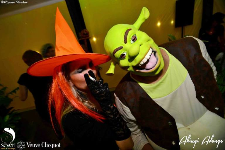 60 Akinyi Adongo Halloween Yelloween Party Veuve Clicquot Nairobi
