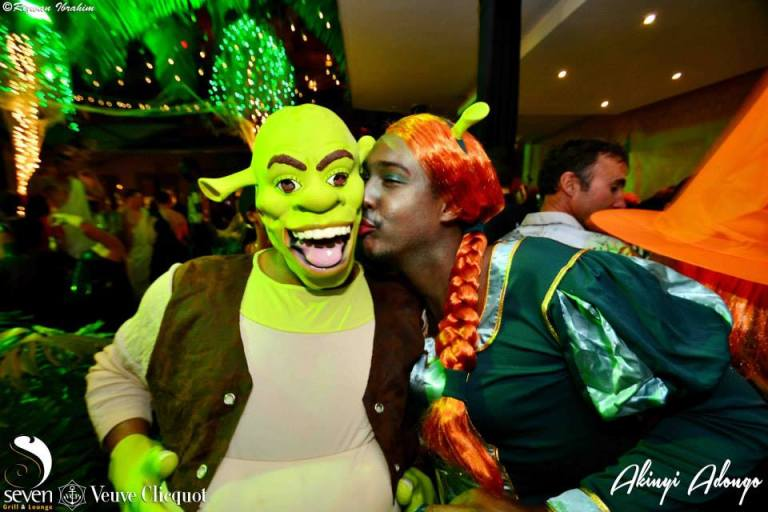 62 Akinyi Adongo Halloween Yelloween Party Veuve Clicquot Nairobi