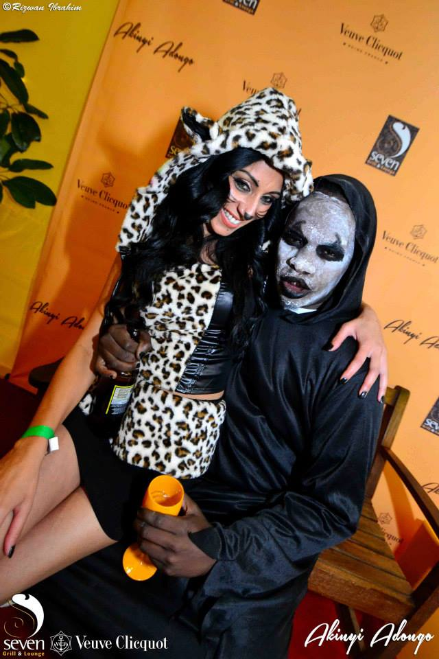 63 Akinyi Adongo Halloween Yelloween Party Veuve Clicquot Nairobi