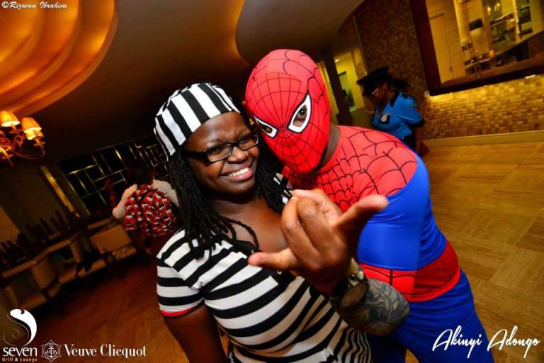 70 Akinyi Adongo Halloween Yelloween Party Veuve Clicquot Nairobi