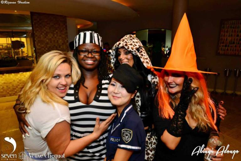 71 Akinyi Adongo Halloween Yelloween Party Veuve Clicquot Nairobi