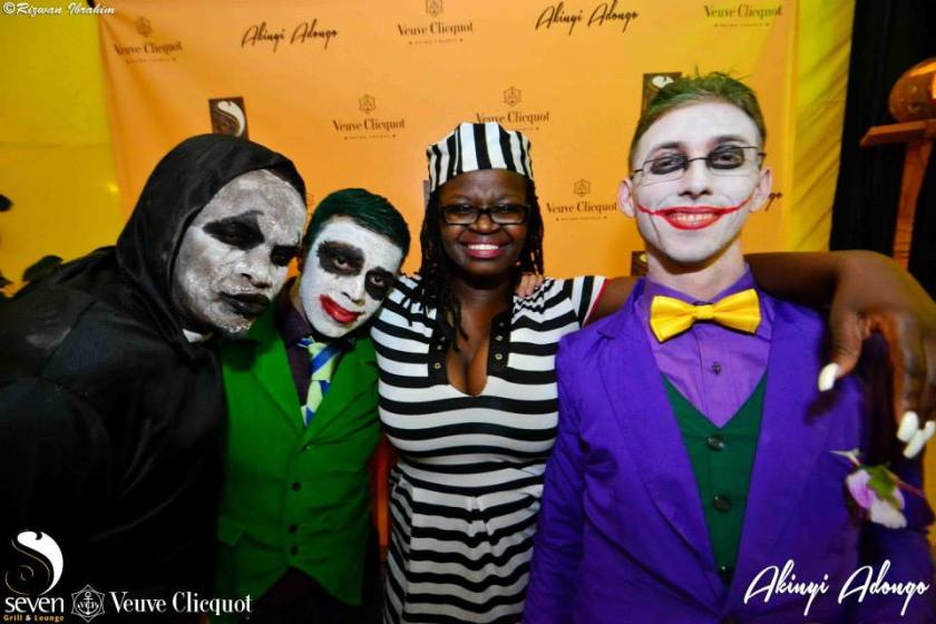 74 Akinyi Adongo Halloween Yelloween Party Veuve Clicquot Nairobi