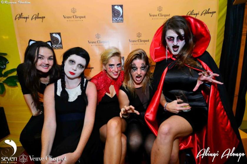 75 Akinyi Adongo Halloween Yelloween Party Veuve Clicquot Nairobi