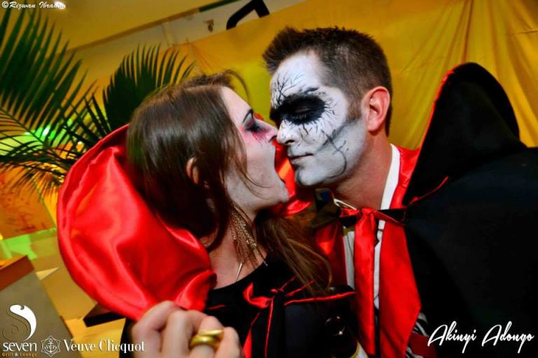 76 Akinyi Adongo Halloween Yelloween Party Veuve Clicquot Nairobi