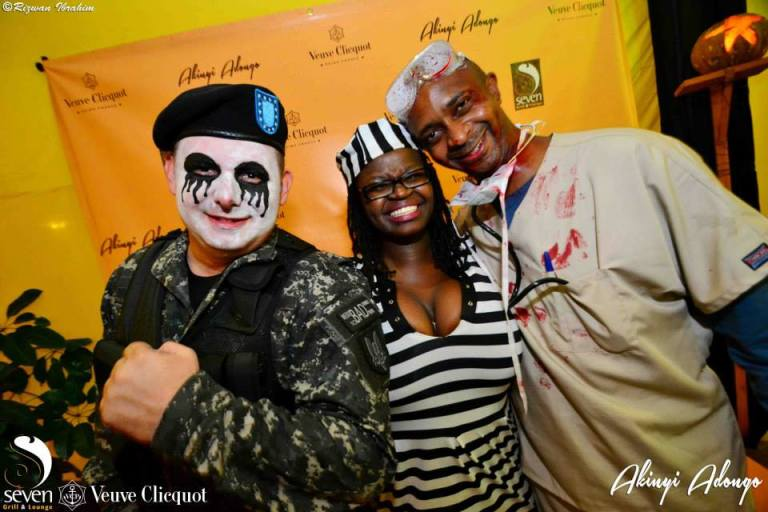 79 Akinyi Adongo Halloween Yelloween Party Veuve Clicquot Nairobi