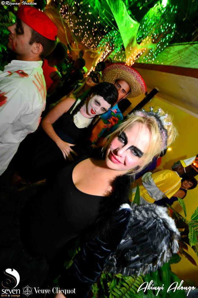 80 Akinyi Adongo Halloween Yelloween Party Veuve Clicquot Nairobi