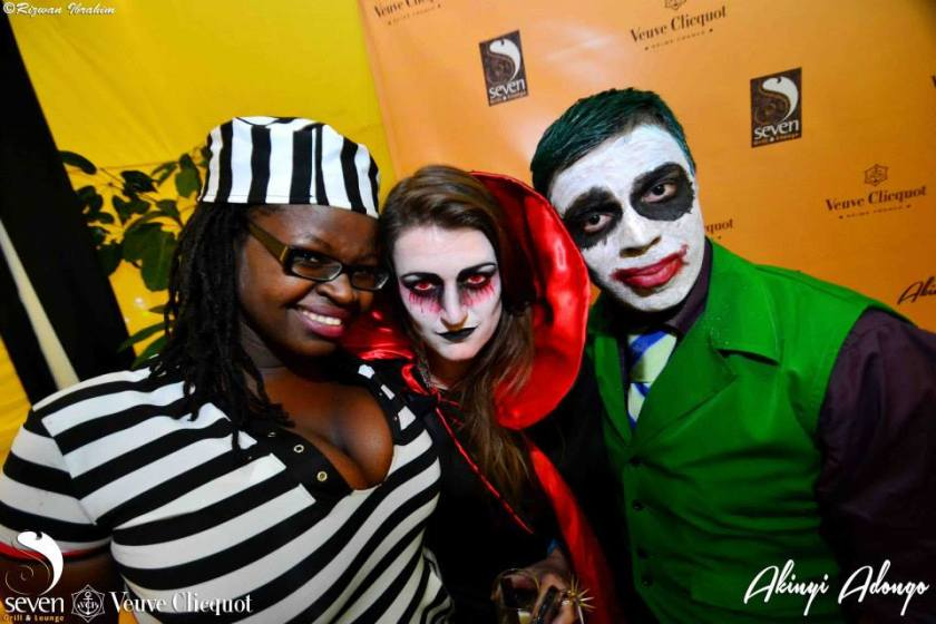 88 Akinyi Adongo Halloween Yelloween Party Veuve Clicquot Nairobi