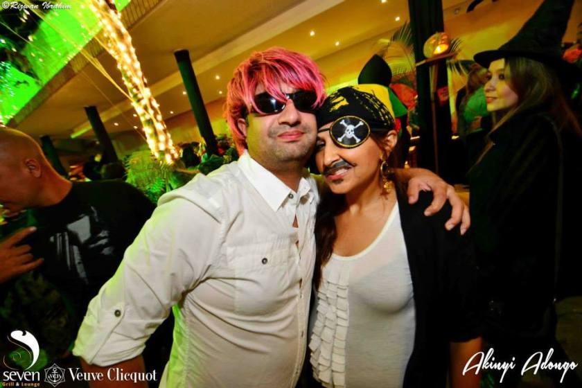 92 Akinyi Adongo Halloween Yelloween Party Veuve Clicquot Nairobi
