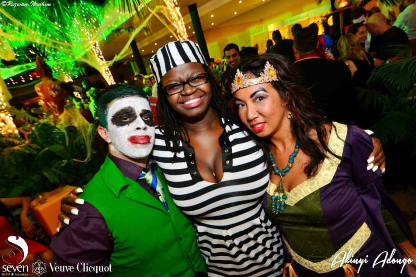 95 Akinyi Adongo Halloween Yelloween Party Veuve Clicquot Nairobi