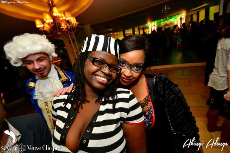 97 Akinyi Adongo Halloween Yelloween Party Veuve Clicquot Nairobi