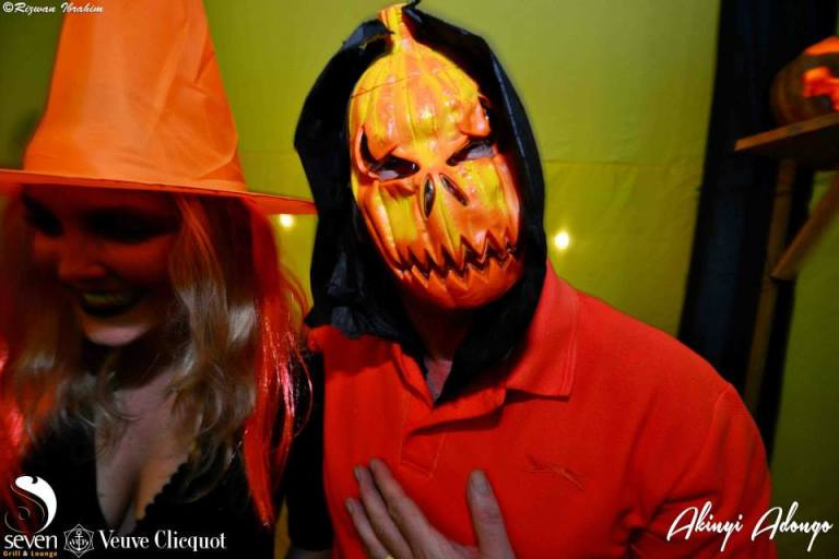 98 Akinyi Adongo Halloween Yelloween Party Veuve Clicquot Nairobi