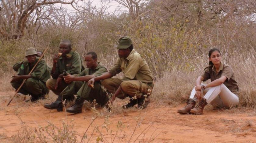 4 Walk With Rangers Akinyi Adongo Elephant Conservation