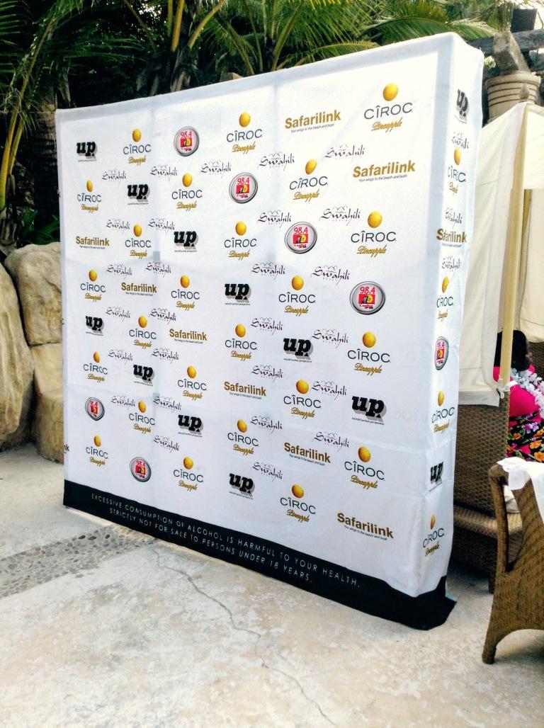 20. Ciroc Vodka Pineapple Launch Akinyi Adongo Swahili Beach Diani