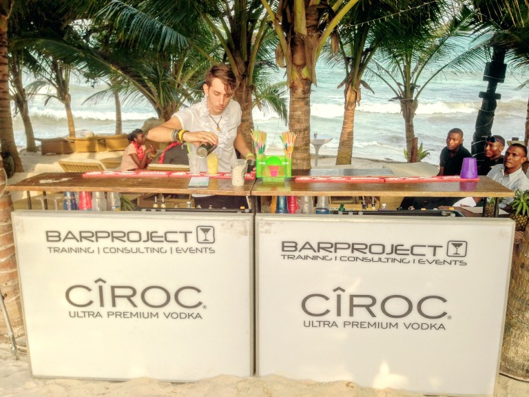 22 Ciroc Vodka Pineapple Launch Akinyi Adongo Swahili Beach Diani