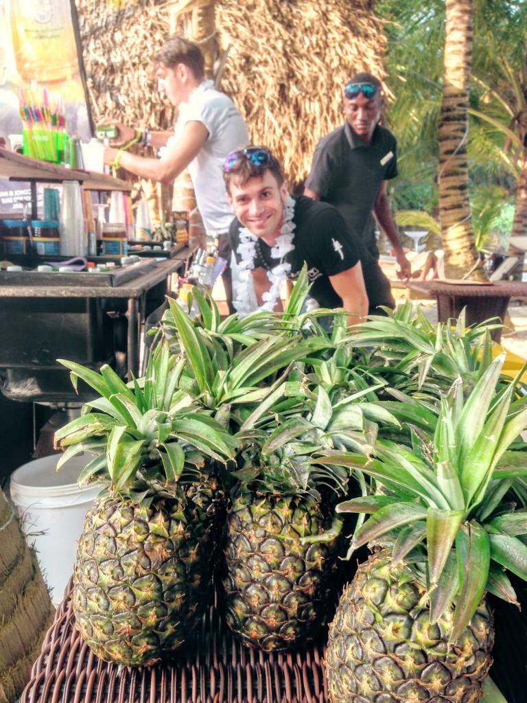 23 Ciroc Vodka Pineapple Launch Akinyi Adongo Swahili Beach Diani (1)