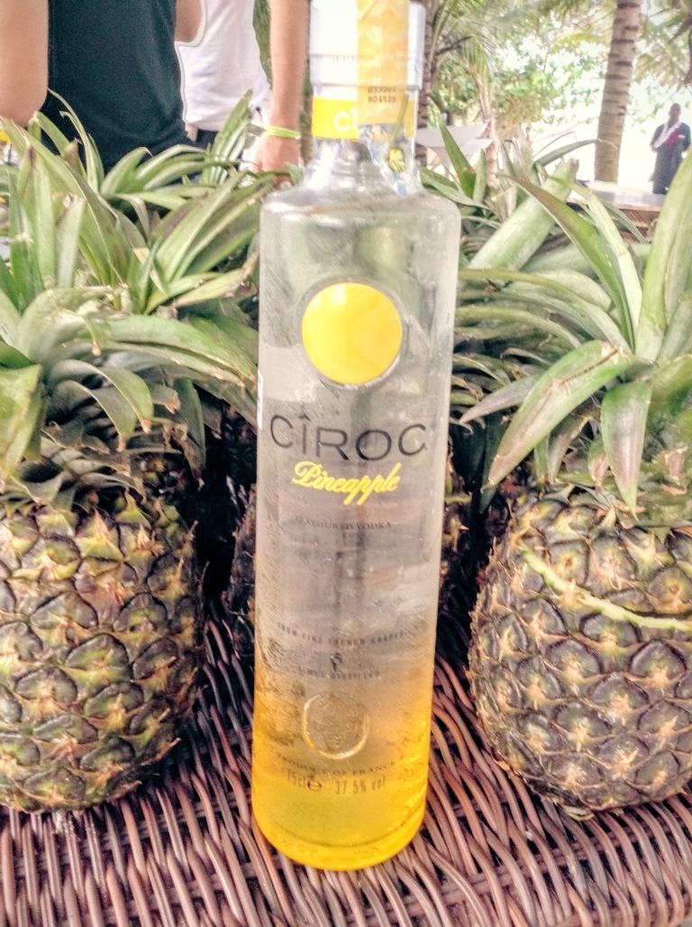 24 Ciroc Vodka Pineapple Launch Akinyi Adongo Swahili Beach Diani (1)