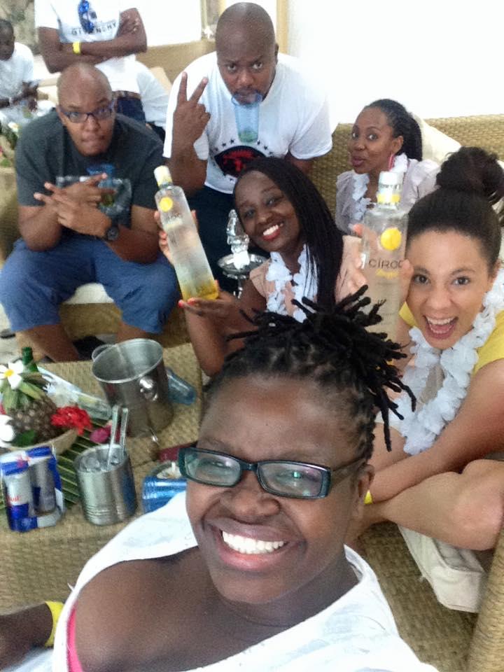 44 Ciroc Vodka Pineapple Launch Akinyi Adongo Swahili Beach Diani