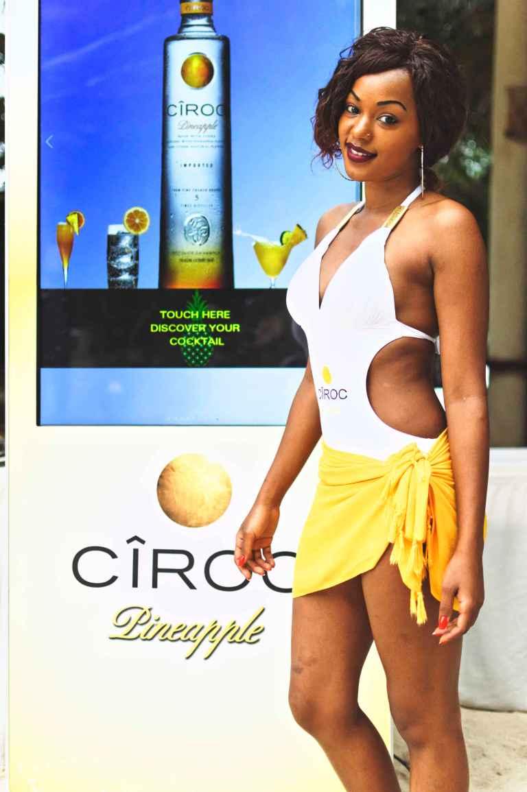 51 Ciroc Vodka Pineapple Launch Akinyi Adongo Swahili Beach Diani