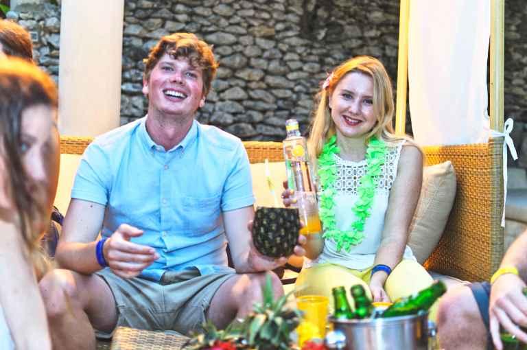 52 Ciroc Vodka Pineapple Launch Akinyi Adongo Swahili Beach Diani