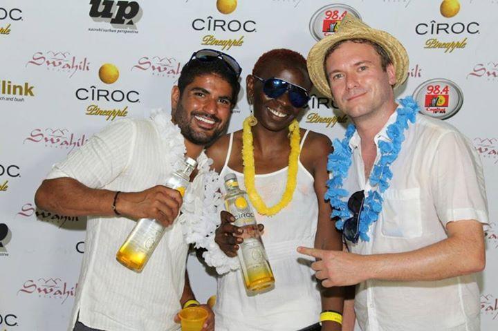 62 Ciroc Vodka Pineapple Launch Akinyi Adongo Swahili Beach Diani