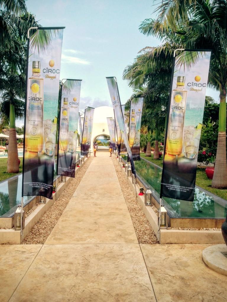 7 Ciroc Vodka Pineapple Launch Akinyi Adongo
