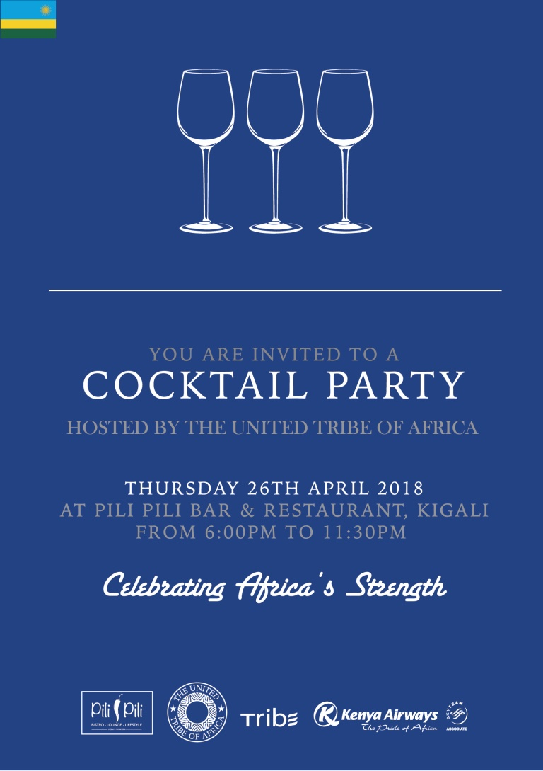 Kigali Cocktail Party Hosted By The United Tribe Of Africa