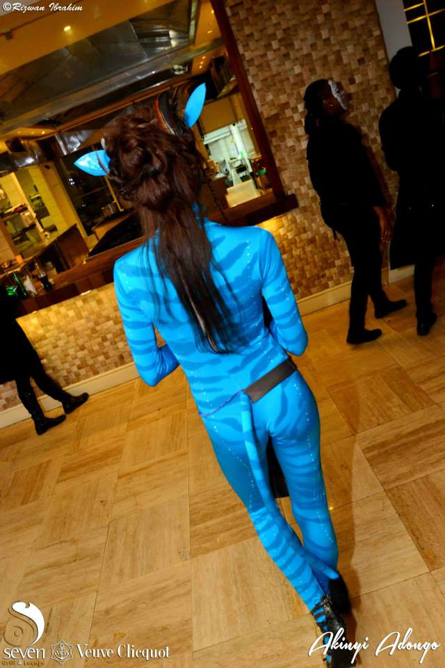 1 Avatar Halloween Costume Party Nairobi Kenya Akinyi Adongo 2