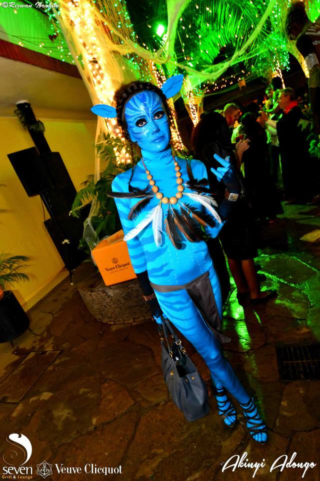 1 Avatar Halloween Costume Party Nairobi Kenya Akinyi Adongo