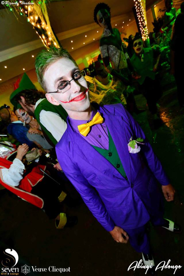 15 The Joker Halloween Costume Party Nairobi Kenya Akinyi Adongo