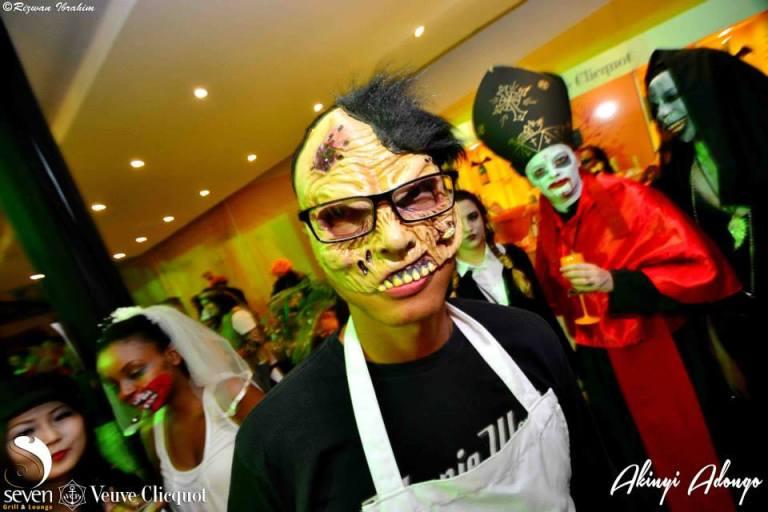 16 The Butcher Halloween Costume Party Nairobi Kenya Akinyi Adongo