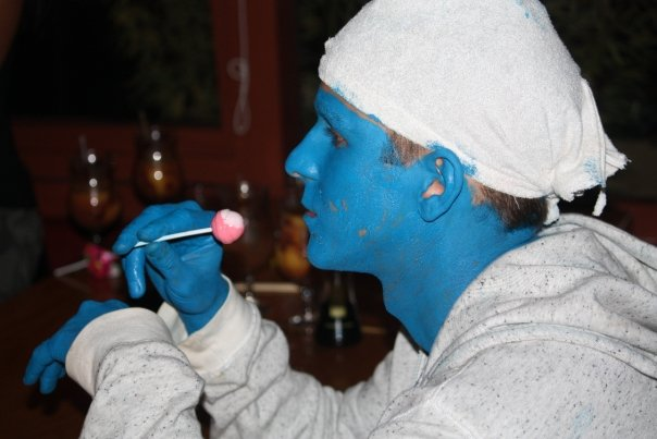 19 Smurf Halloween Costume Party Nairobi Kenya Akinyi Adongo