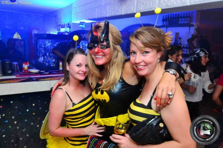 23 Bumble bees Halloween Costume Party Nairobi Kenya Akinyi Adongo
