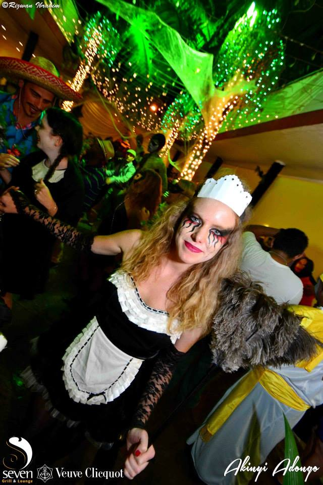 24. French Maid Halloween Costume Party Nairobi Kenya Akinyi Adongo