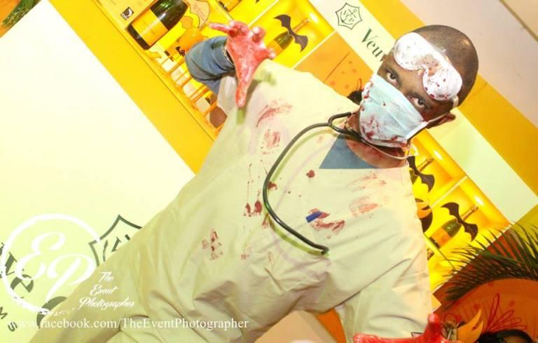 29. Doctor Halloween Costume Party Nairobi Kenya Akinyi Adongo