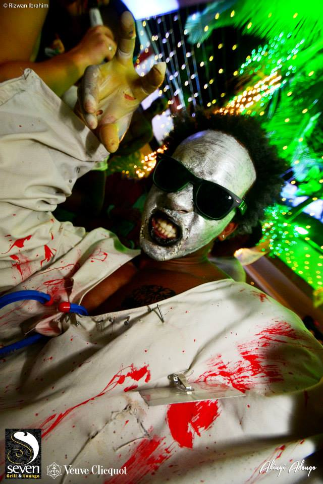 29.. Doctor Halloween Costume Party Nairobi Kenya Akinyi Adongo