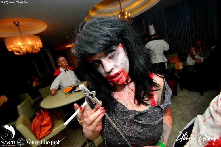 32 Halloween Costume Party Nairobi Kenya Akinyi Adongo