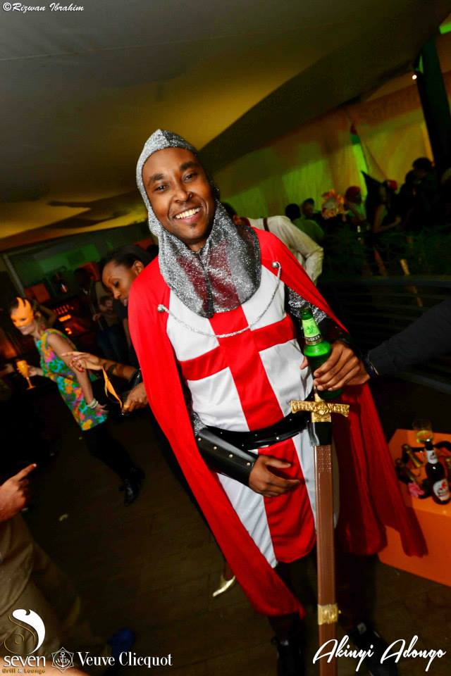 35 Crusader Halloween Costume Party Nairobi Kenya Akinyi Adongo