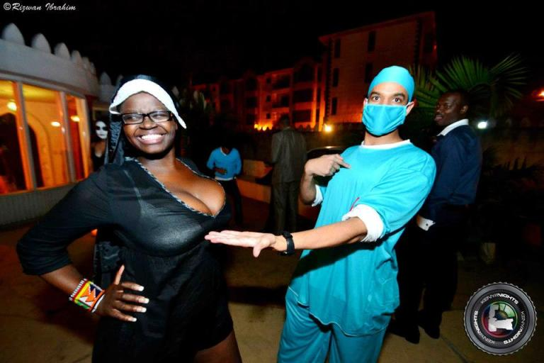 37 Doctor Halloween Costume Party Nairobi Kenya Akinyi Adongo