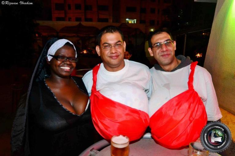 38 Halloween Costume Party Nairobi Kenya Akinyi Adongo