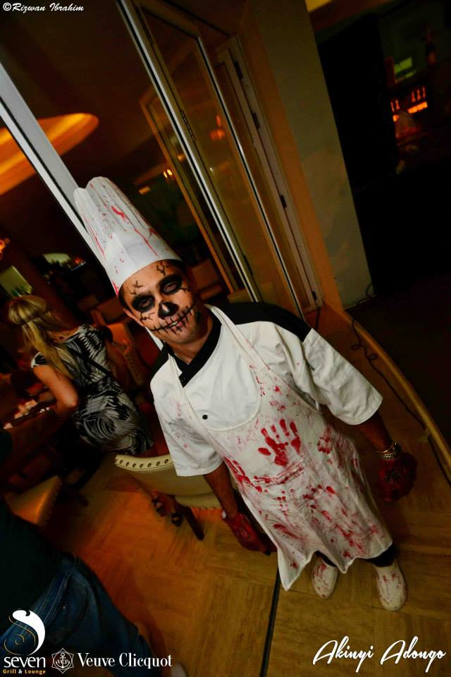48. Chef Halloween Costume Party Nairobi Kenya Akinyi Adongo