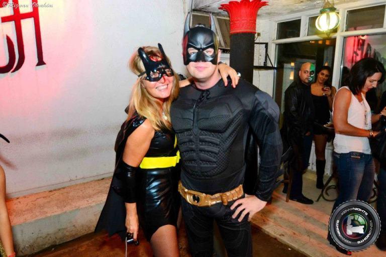 49 Batman Batgirl Halloween Costume Party Nairobi Kenya Akinyi Adongo
