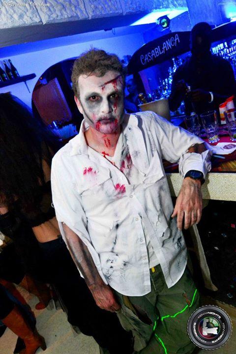 50. Zombie Halloween Costume Party Nairobi Kenya Akinyi Adongo
