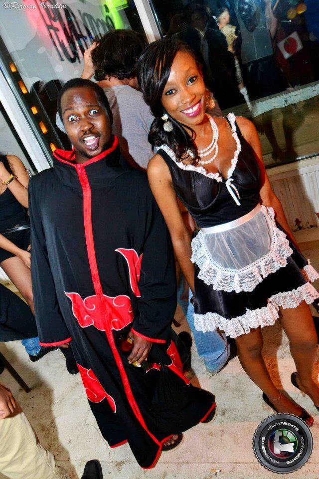 62. Akatsuki Halloween Costume Party Nairobi Kenya Akinyi Adongo