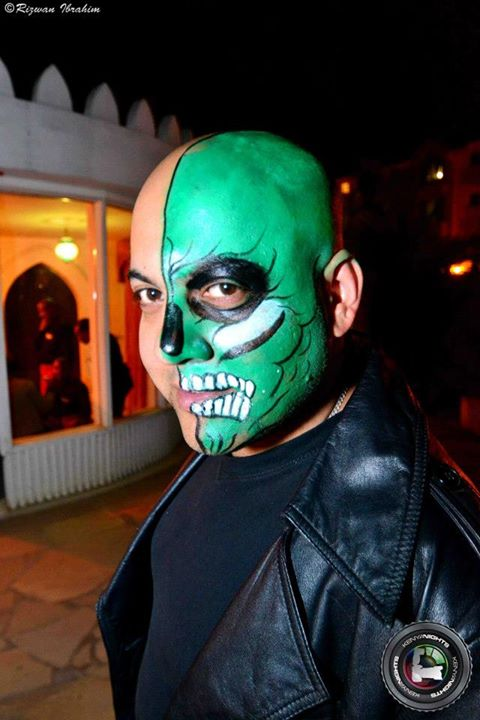 64. Two face Halloween Costume Party Nairobi Kenya Akinyi Adongo