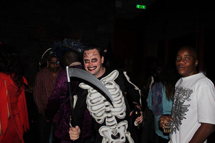 65. Grim Reaper Halloween Costume Party Nairobi Kenya Akinyi Adongo