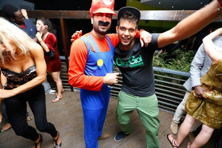 73. Mario Brothers Halloween Costume Party Nairobi Kenya Akinyi Adongo