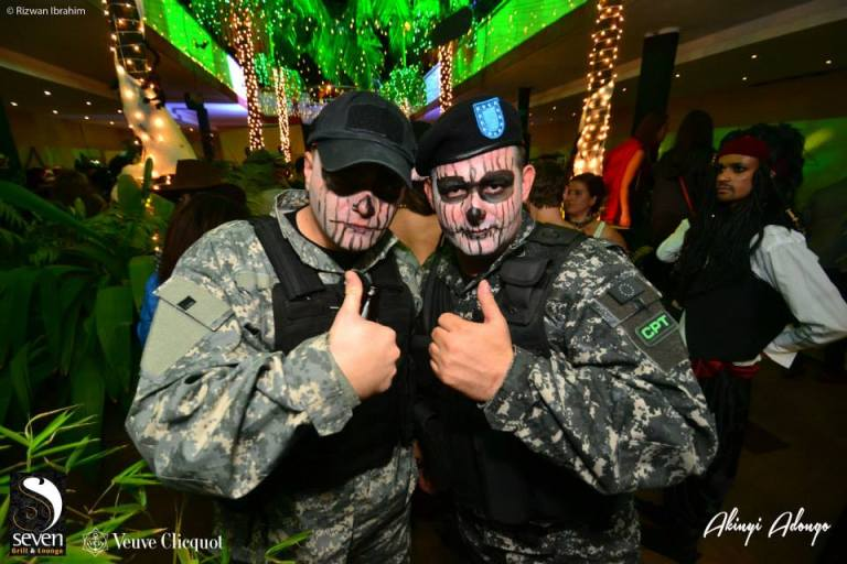 79. Military Gear Halloween Costume Party Nairobi Kenya Akinyi Adongo