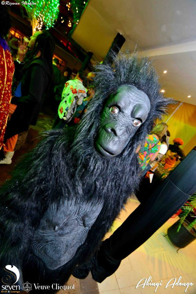 80. Ape Halloween Costume Party Nairobi Kenya Akinyi Adongo